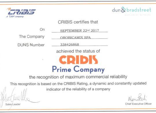 Cribis Prime Company - ENG